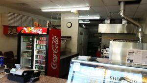 Pizza & Chicken Wings Store, Excellent income.