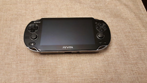 Playstation Vita 3G Wi-Fi + games and cases