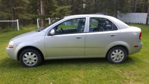 05 aveo (SUPER CLEAN)automatic 149kms