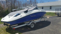 2012 Sea Doo 180 Challenger 255 HP Jet Boat & Galvanized Trailer