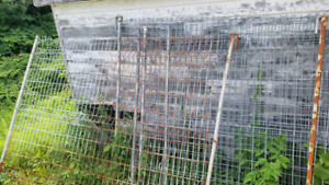 Industrial Wire Fence