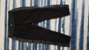 2 leggings with faux leather size 2x