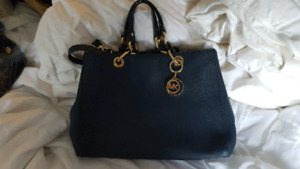 Navy Blue MK Michael Kors purse