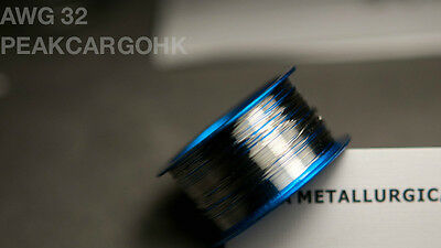 Platinum Pt Metal Element Wire - Dia. 0.008 0.2mm Awg 32 - 99.99