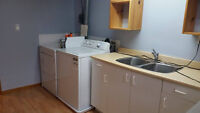 1 bedroom, walking distance to University de Moncton. renovated!