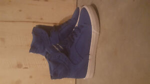 Supra Runners - Shoes - Blue - Hightops