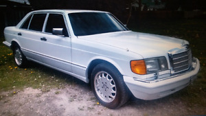 91 mercedes 420sel.  Trade considered