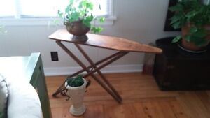 Small Wooden Ironing Board