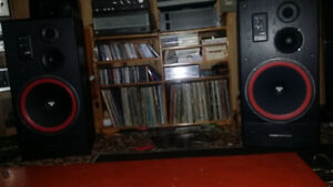 Lots of Vintage silver faced stereo equipment
