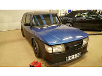 Saab 900 8V Competition Racing car Lots of work done ABBOTT RACING power upgrade