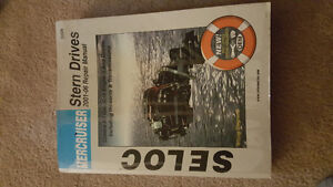 Seloc Mercruiser Stern Drive Repair Manual for years 2001-2006