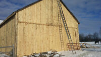 BARN PAINTIING & REPAIRS & SANDBLASTING