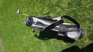 """US Kids Golf Clubs Yellow 63"""" Left Handed"""