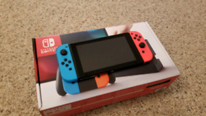 Nintendo Switch (Mint condition in box)