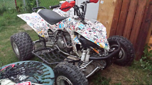 Trade for 4x4 or 450 dirt bike