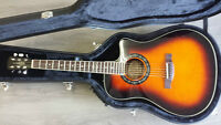 Fender T-BUCKE 300CE with custom hardcase included!  MORE ABOUT