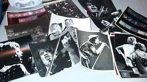 Rolling Stones negative prints