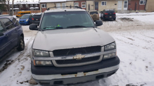 Chevy avalanche for sale