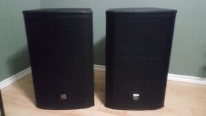 A pair of EV  ETX  15P  powered speakers!