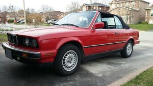 1989 BMW 3-Series 325i Convertible