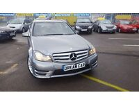 Mercedes C Class 2.1 C 200 CDI BLUEEFFICIENCY AMG SPORT (silver) 2013