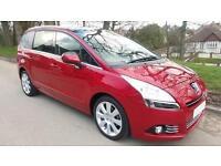 2011 Peugeot 5008 1.6 HDi FAP Exclusive EGC 5dr