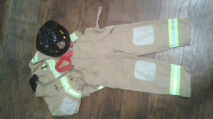 Kids Fire Fighter Costume size 5/6