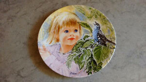 """*** 1986 FRANCES HOOK - BRADFORD EXCHANGE PLATE ~ """"DISCOVERY"""""""