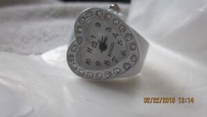 Heart shape ring watch