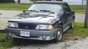 1988 GT 5.0 Mustang Convertible 5 Speed