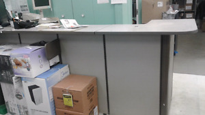 3x10x44 receptionist counter for retail or office front