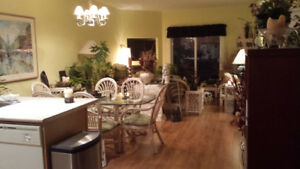 RATTAN  DINING SET FOR 6/MATCHING LIVING ROOM SET/OTHER PIECES