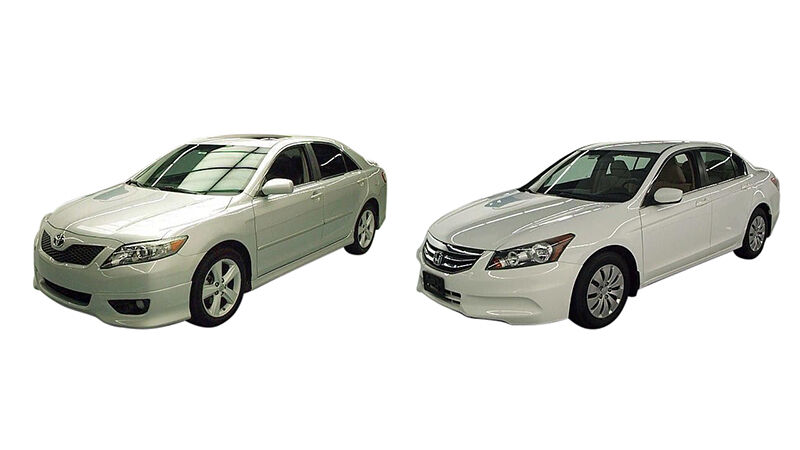 2011 Camry Se Vs 2011 Honda Accord Ebay