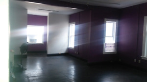 Upper level commercial space