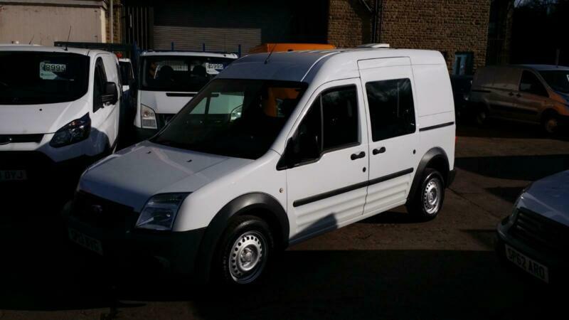 5813e0d397d98e 13 PLATE Ford Connect 1.8TDCi ( 90PS ) High Roof Crew Van T230 LWB NO VAT