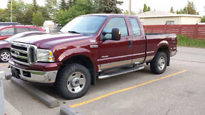2005 Ford F-250 Pickup Truck only 62,000 kms