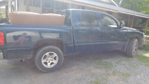 On road now 2005 dodge dakota 4x4 v8 shortbox