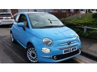 2015 Fiat 500 1.2 Lounge 3dr Manual Petrol Hatchback