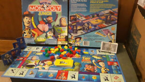 2002 Disney Pixar Toy Story and Beyond Monopoly Junior Compete