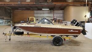 1981 16.5ft Canaventure  with 90hp Mercury