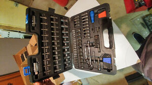 78 piece Mastercraft socket set (Complete) Kitchener / Waterloo Kitchener Area image 2