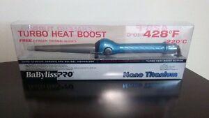 Brand new Babyliss Pro Turbo Heat Boost Curling Iron