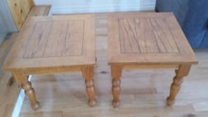 End Tables, set of 2