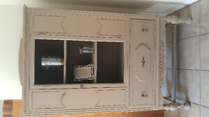 Antique buffet redone with chalk paint