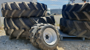 Tractor wreckers, parts, tyres, loaders etc Ulverstone Central Coast Preview