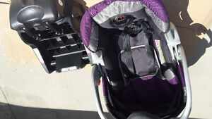 Stroller with cat seat