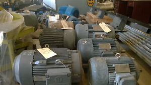 ELECTRIC MOTORS FOR SALE 0.33HP UP TO 40HP Kitchener / Waterloo Kitchener Area image 3