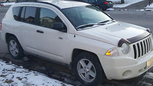 2009 Jeep Compass black SUV, Crossover