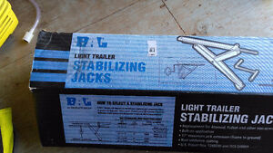 "One - BAL 20"" Light Trailer Stabilizing Jack"