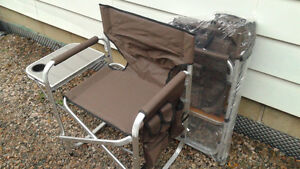 Two brand new Director Camping chairs